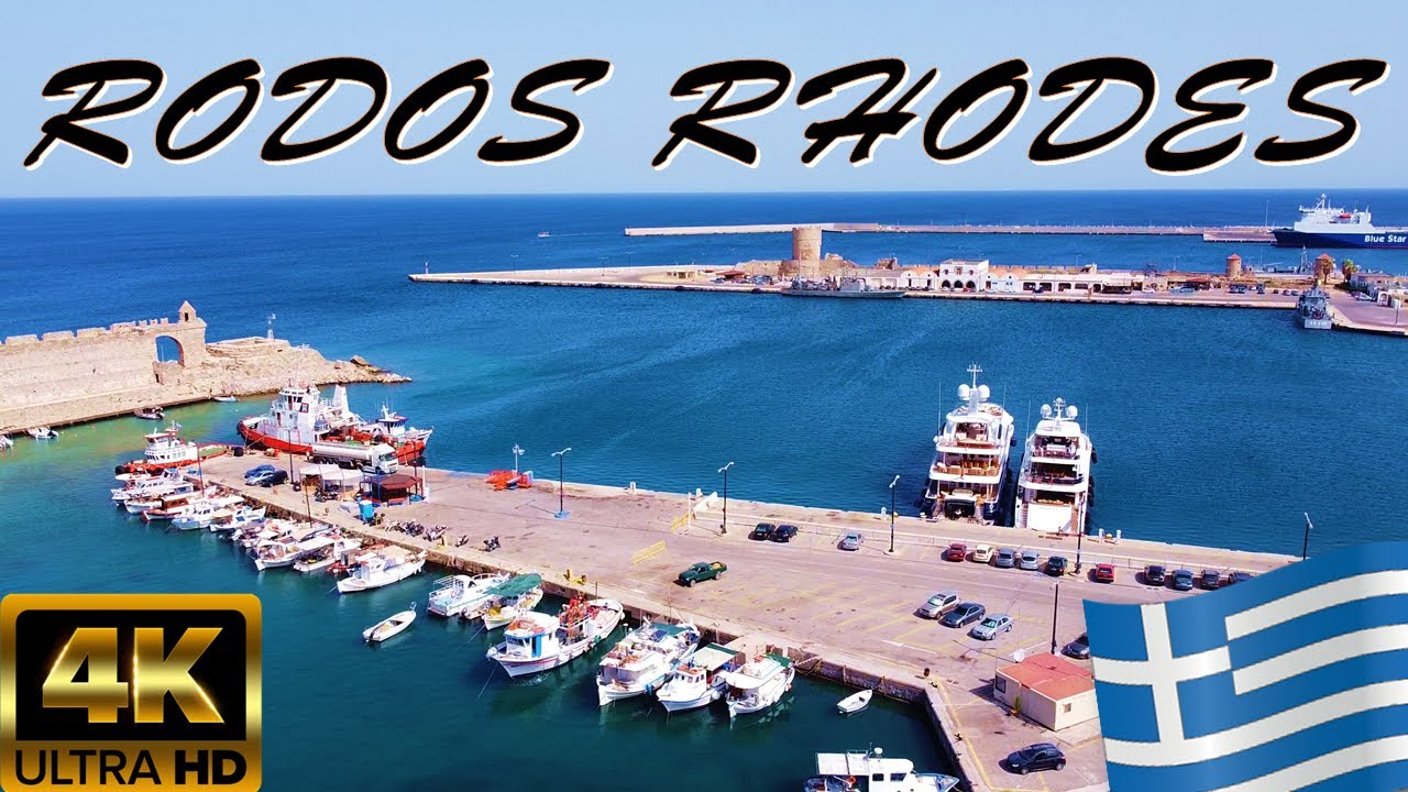 RHODES GREECE 2020 [TRAVEL GUIDE TO RODOS OLD TOWN AND PORT]